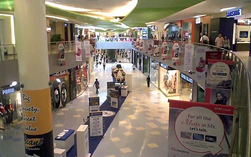 shopping mall advertising