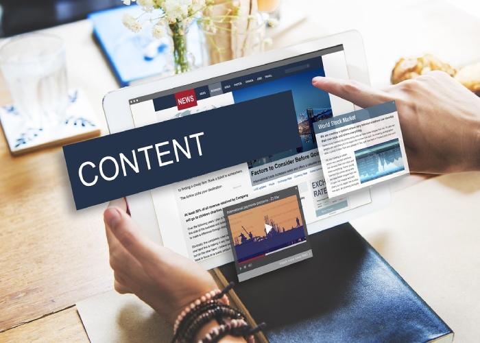 Content SEO website