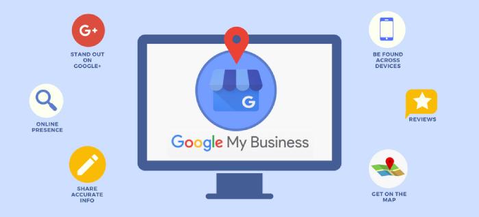 Thiết lập Google my business sẽ giúp các thông tin về doanh nghiệp